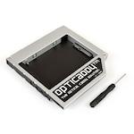 Samsung RV511 HDD/SSD caddy SATA-3 Opticaddy beépítőkeret