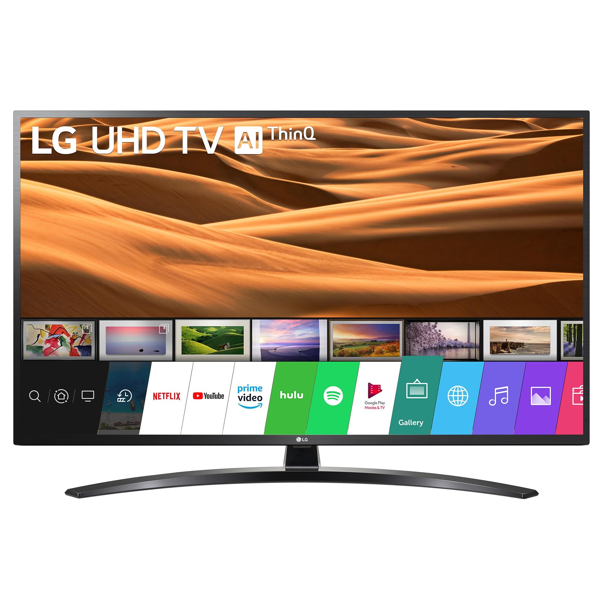 Fotografie Televizor LED Smart LG, 139 cm, 55UM7450PLA, 4K Ultra HD