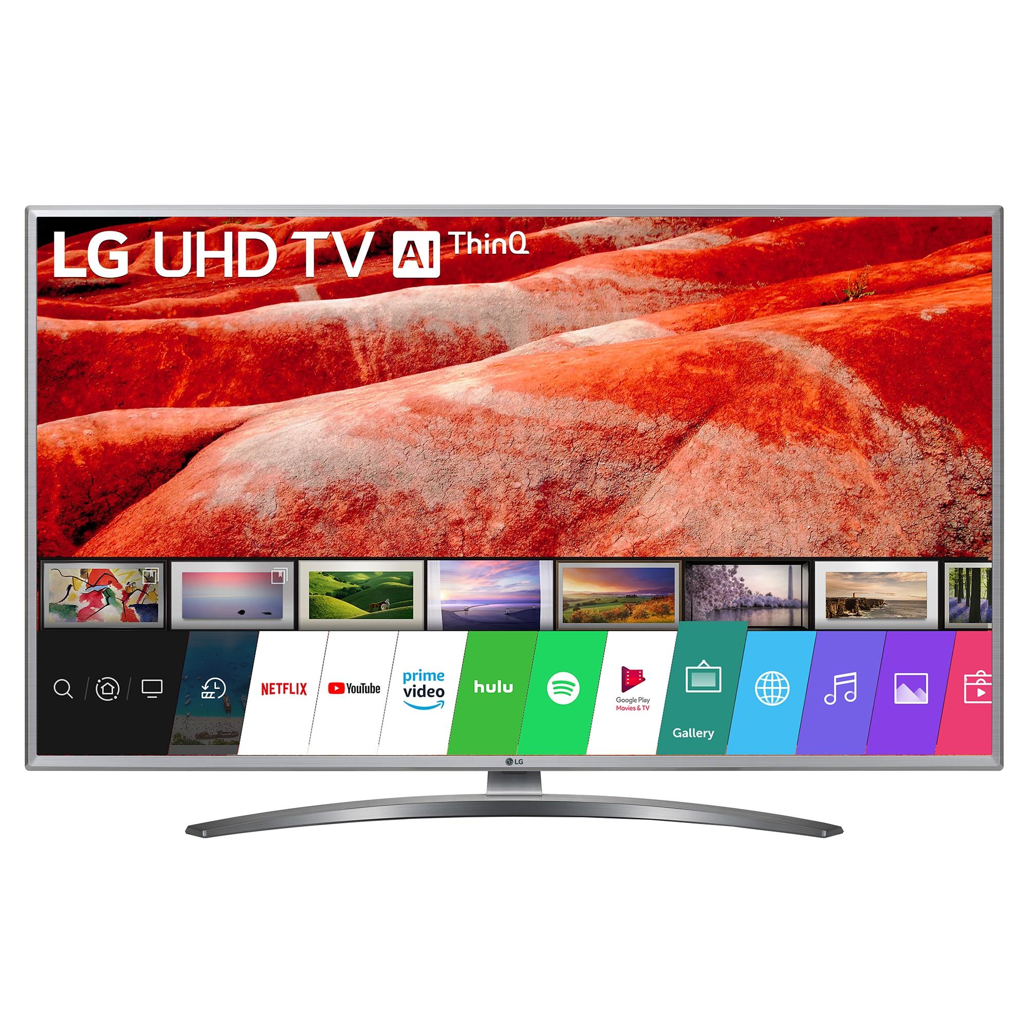Fotografie Televizor LED Smart LG, 108 cm, 43UM7600PLB, 4K Ultra HD