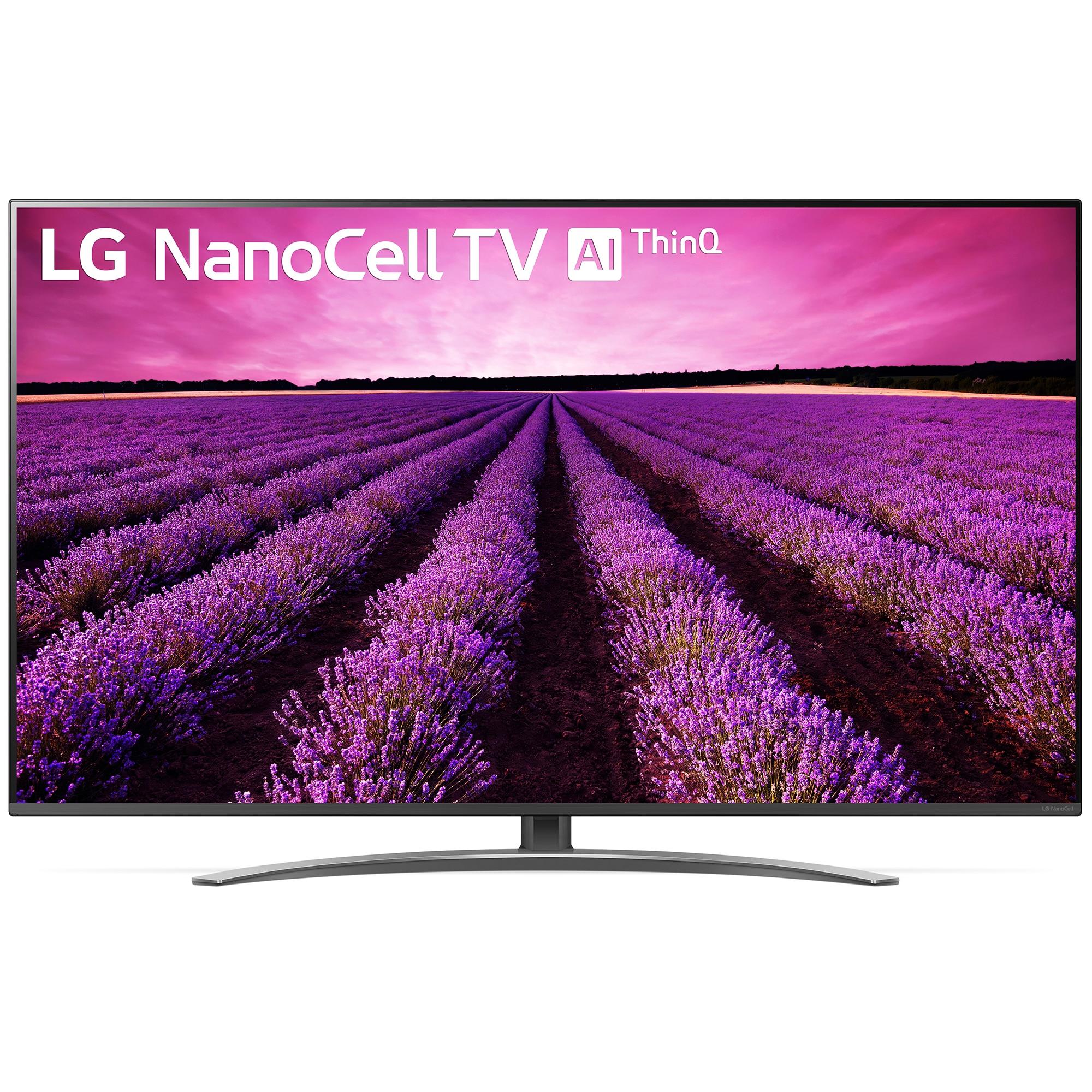 Fotografie Televizor LED Smart LG, 139 cm, 55SM8200PLA, 4K Ultra HD