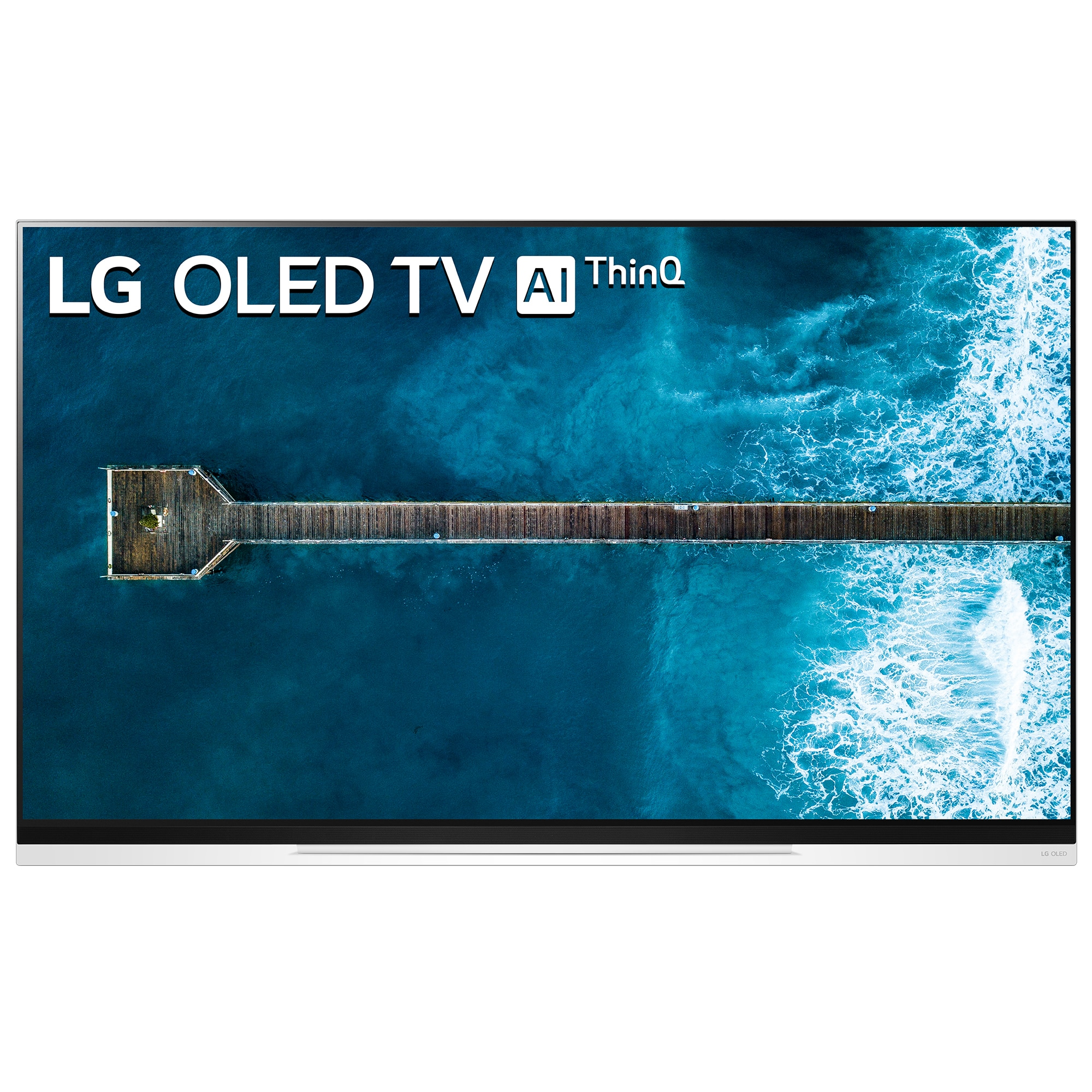 Fotografie Televizor OLED Smart LG, 139 cm, OLED55E9PLA, 4K Ultra HD, Clasa A