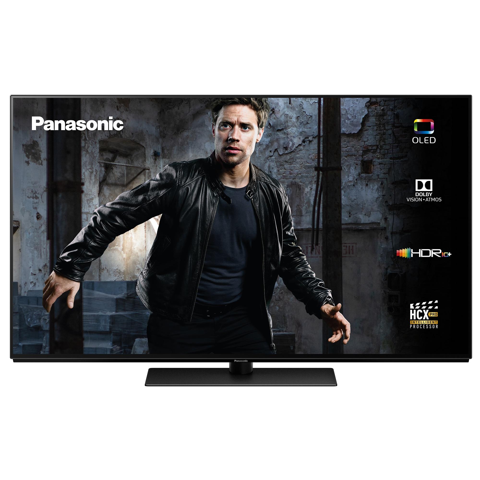 Fotografie Televizor OLED Smart Panasonic, 139 cm, TX-55GZ950E, 4K Ultra HD, Clasa A
