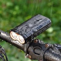 lampa bicicleta decathlon