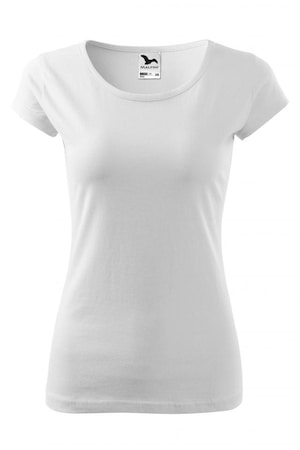 Tricou pentru dama Pure, alb, marime XS