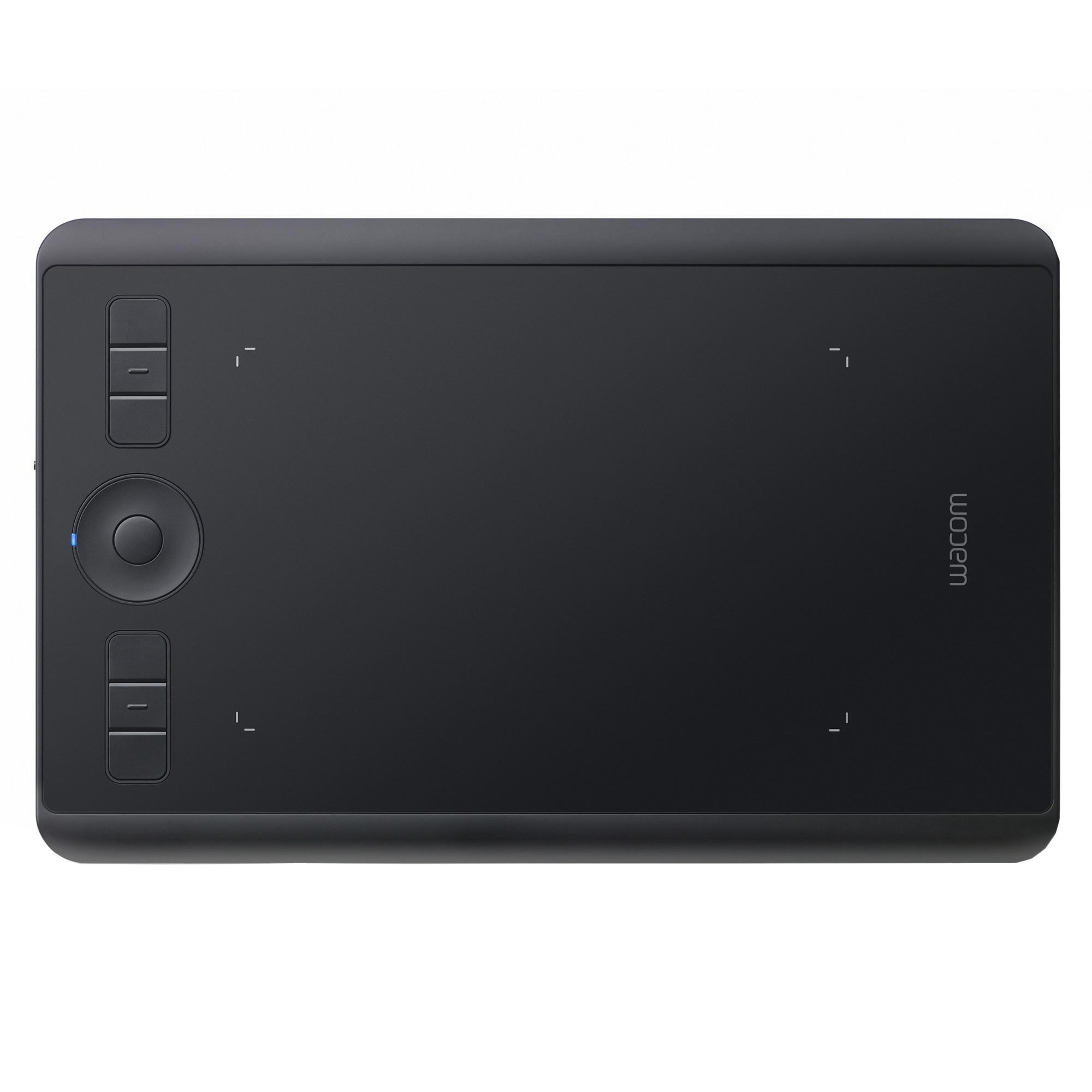 Fotografie Tableta grafica Wacom Intuos Pro S, Bluetooth, Negru