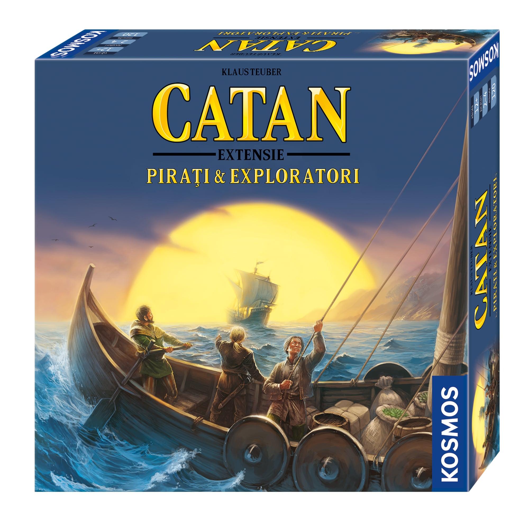 Fotografie Joc de societate Kosmos Catan, Pirati & Exploratori, extensie