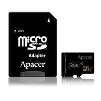 Apacer AP32GMCSH10U1-R 32GB Micro SDHC Class 10 UHS-I memóriakártya