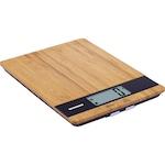 Кухненска везна Heinner HKS-5BB, 5 кг, Тара, Функция за измерване на течности, 1 гр, Бамбук
