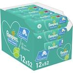 Мокри кърпички Pampers Fresh Clean, 12 пакета x 52, 624 броя