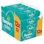 Pampers Fresh Clean Nedves törlőkendő, 12 x 52, 624 darab