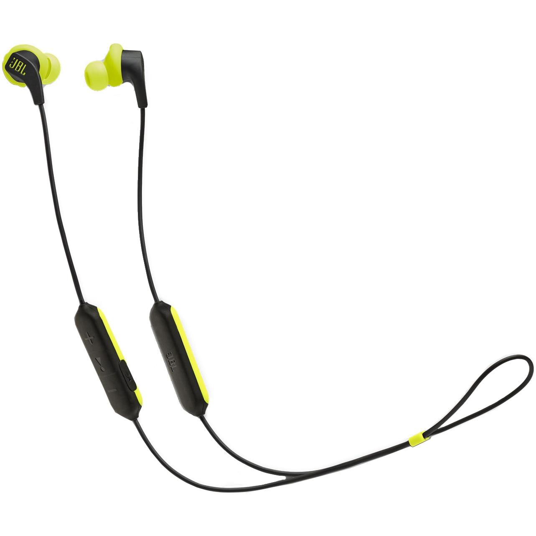 Fotografie Casti sport In-Ear JBL Endurance Run, Wireless Bluetooth, Sweatproof IPX5, Hands-free, Fliphook, Playback 6h, Verde