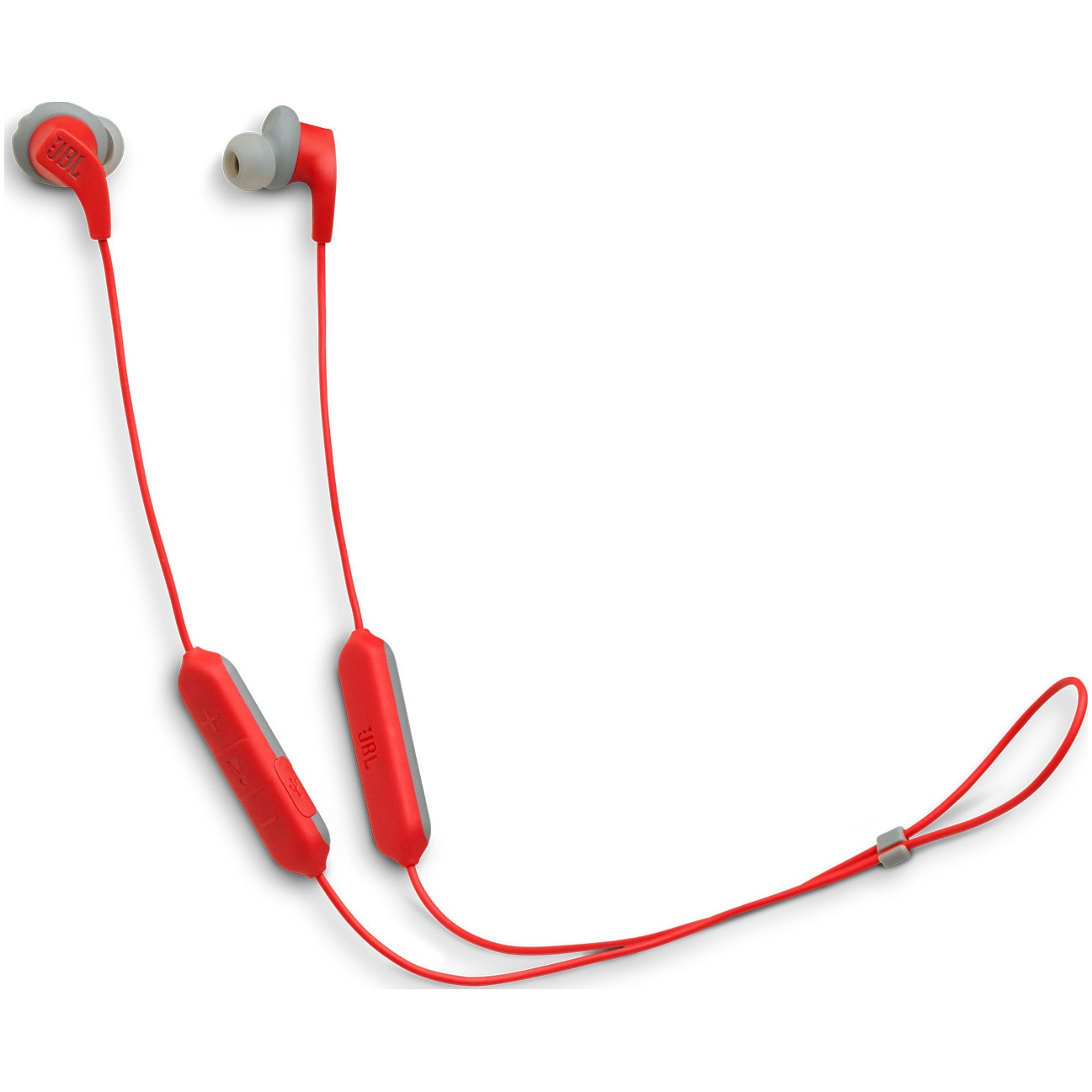 Fotografie Casti sport In-Ear JBL Endurance Run, Wireless Bluetooth, Sweatproof IPX5, Hands-free, Fliphook, Playback 6h, Rosu