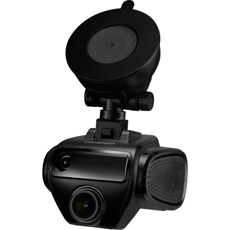 "Fotografie Camera auto DVR cu detector radar si GPS Prestigio PRS500WGPS, FHD, ecran 1.7 "", unghi 150 grade, micro USB, motion detection, G-sensor, WiFi"