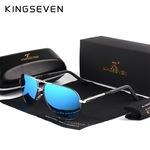 Мъжки авиаторски очила KINGSEVEN, огледални