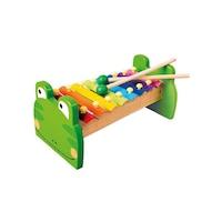 Bino Toys 8865912 Béka alakú xilofon hangszer