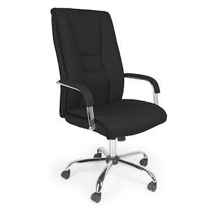 Ikoni Cony ergonomikus forgószék fekete, hintamechanika, állítható magasság