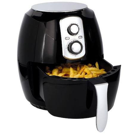 Cuisinier Deluxe Olaj nélküli meleglevegős fritőz, 3,6L