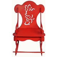 scaun balansoar copii lemn