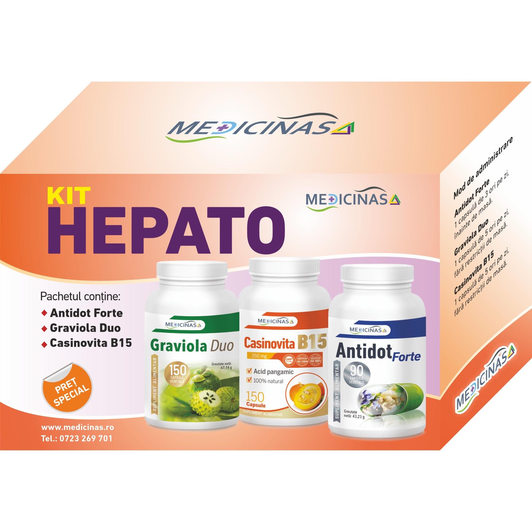 Hepanox Protect Detox - Suplimente hepatice detox