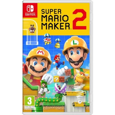 Super Mario Maker 2 (Nintendo Switch) játékszoftver