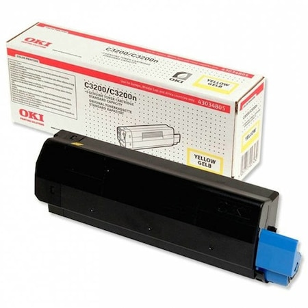 Toner Original Oki 43034805 Original Yellow Toner Cartridge