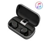 Bluetooth Fülhallgató, Luminous® HiFi , Vezeték nélküli, Hangerőszabályozás, Handsfree, Vízálló, Kompatibilitás: Univerzális - Fekete/Szürke