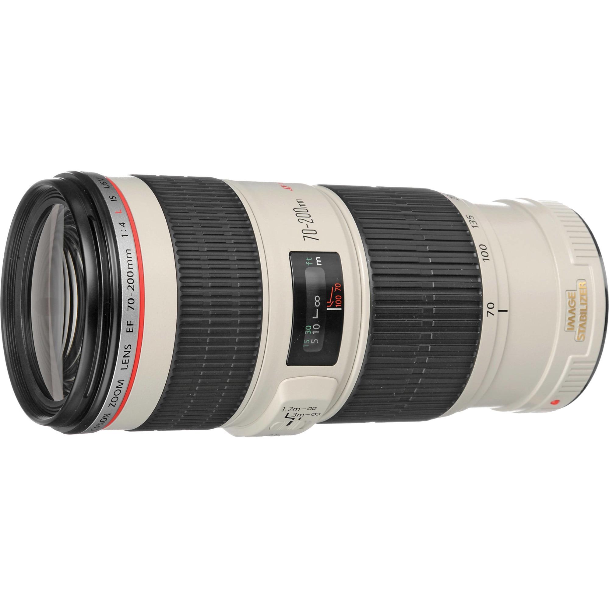 Fotografie Obiectiv Canon EF 70-200mm f/4 L IS USM
