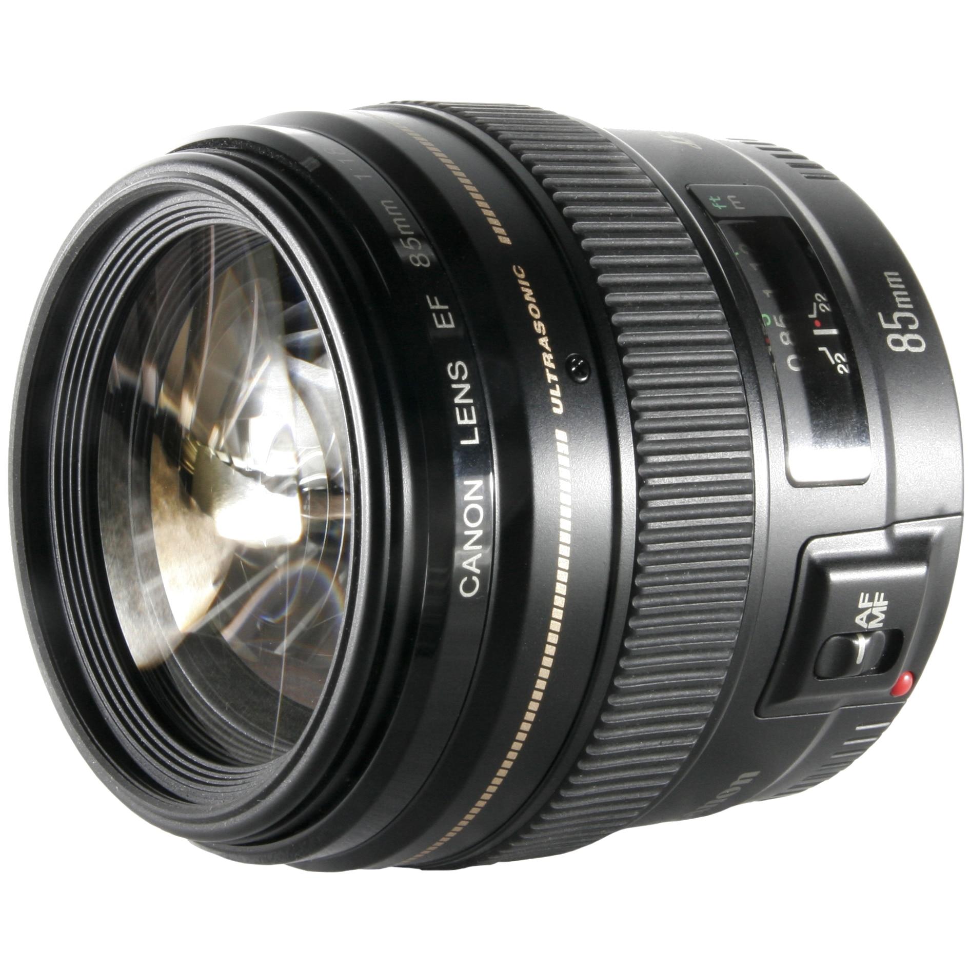 Fotografie Obiectiv Canon EF 85mm f/1.8 USM