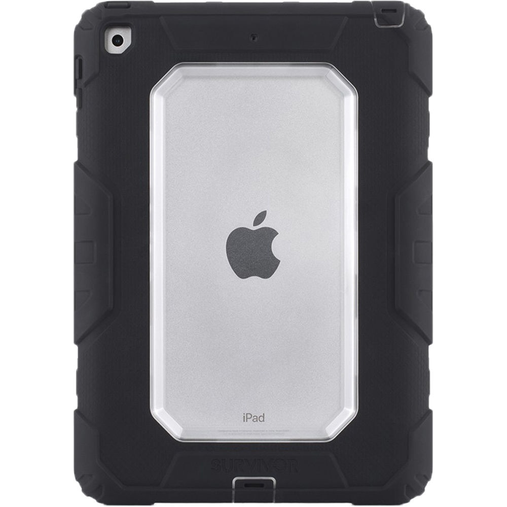 "Fotografie Husa de protectie Griffin Survivor pentru Apple iPad 9.7"" 2017/2018, Black/Clear Color"