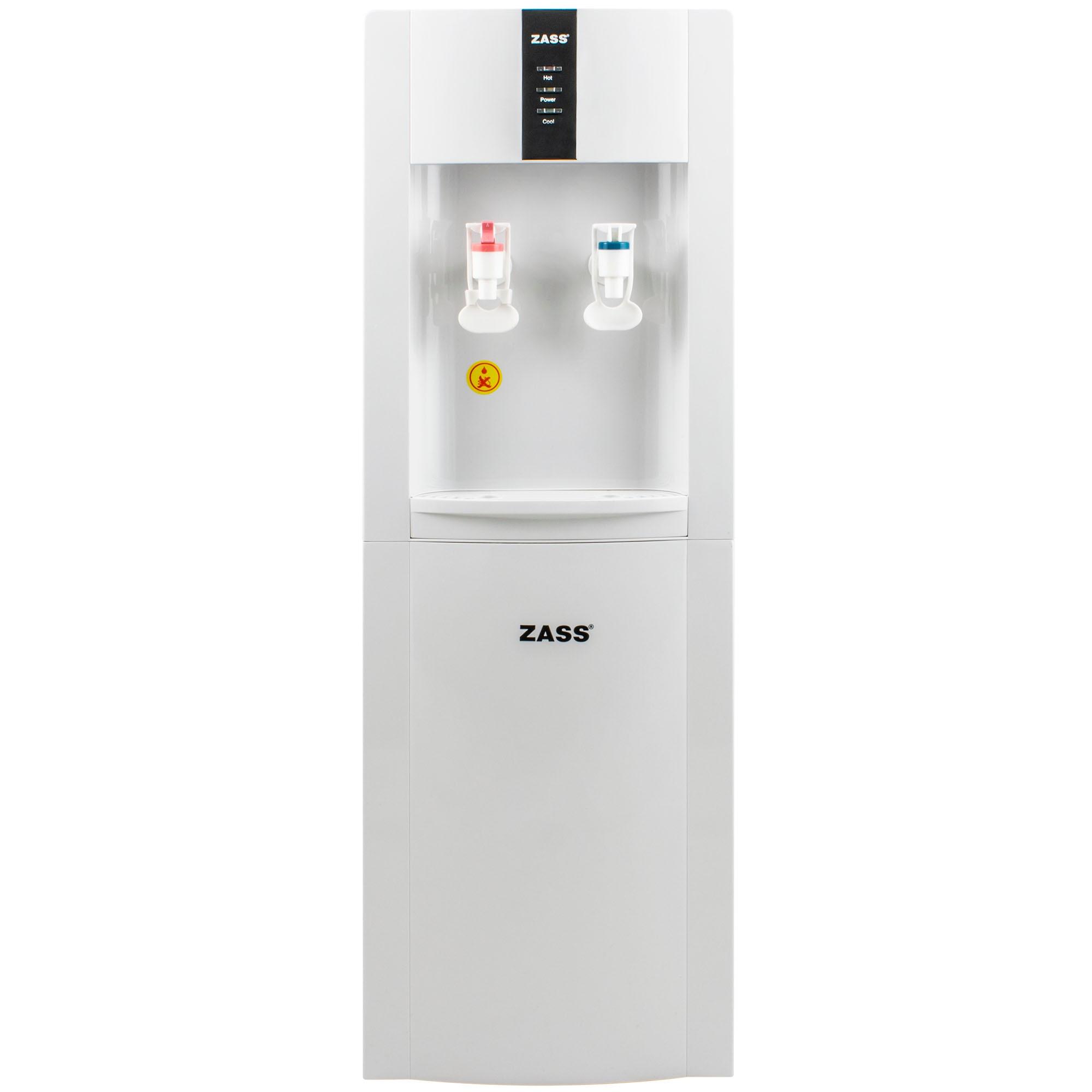 Fotografie Dozator apa de podea Zass ZWD 05 WF cu conexiune la retea, sistem de filtrare a apei, apa calda/apa rece, racire cu compresor