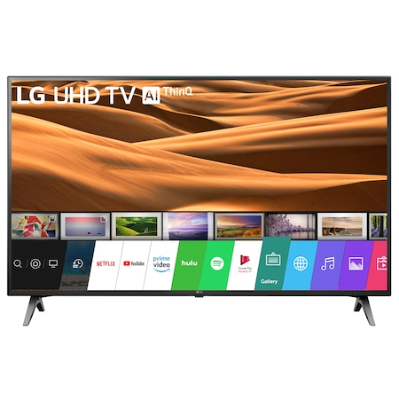 Televizor LED Smart LG, 108 cm, 43UM7100PLB, 4K Ultra HD, Clasa A