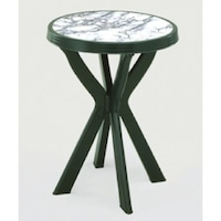 Маса Мебели Богдан Dona, Зелена с апликация