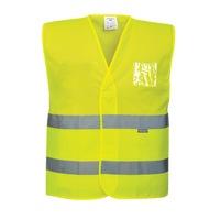 Portwest Hi-Vis hálós mellény sárga - 3XL