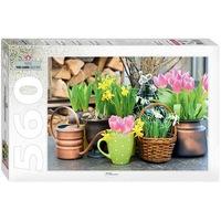 Пъзел Step - Spring Flowers, 560 части (60276)