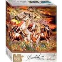 Пъзел Step - Find 12 Horses!, 1.000 части (61490)
