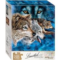 Пъзел Step - Find 12 Wolves!, 1.000 части (61493)