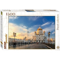 Пъзел Step - Cathedral of Christ the Saviour, Moscow, 1.500 части (60342)