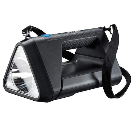 LED фенер Varta Work Flex BL30R, С презареждане, 550 лумена, 3 режима на осветление, Индикатор за батерията, IPX4