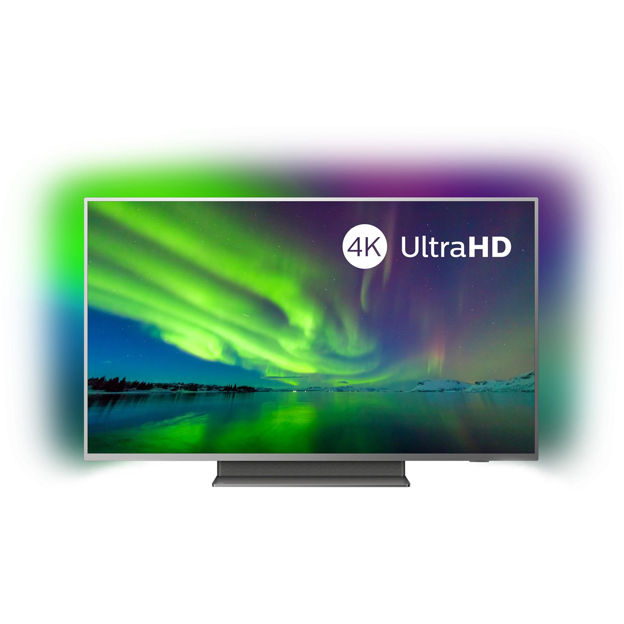 Fotografie Televizor LED Smart Android Philips, 126 cm, 50PUS7504/12, 4K Ultra HD
