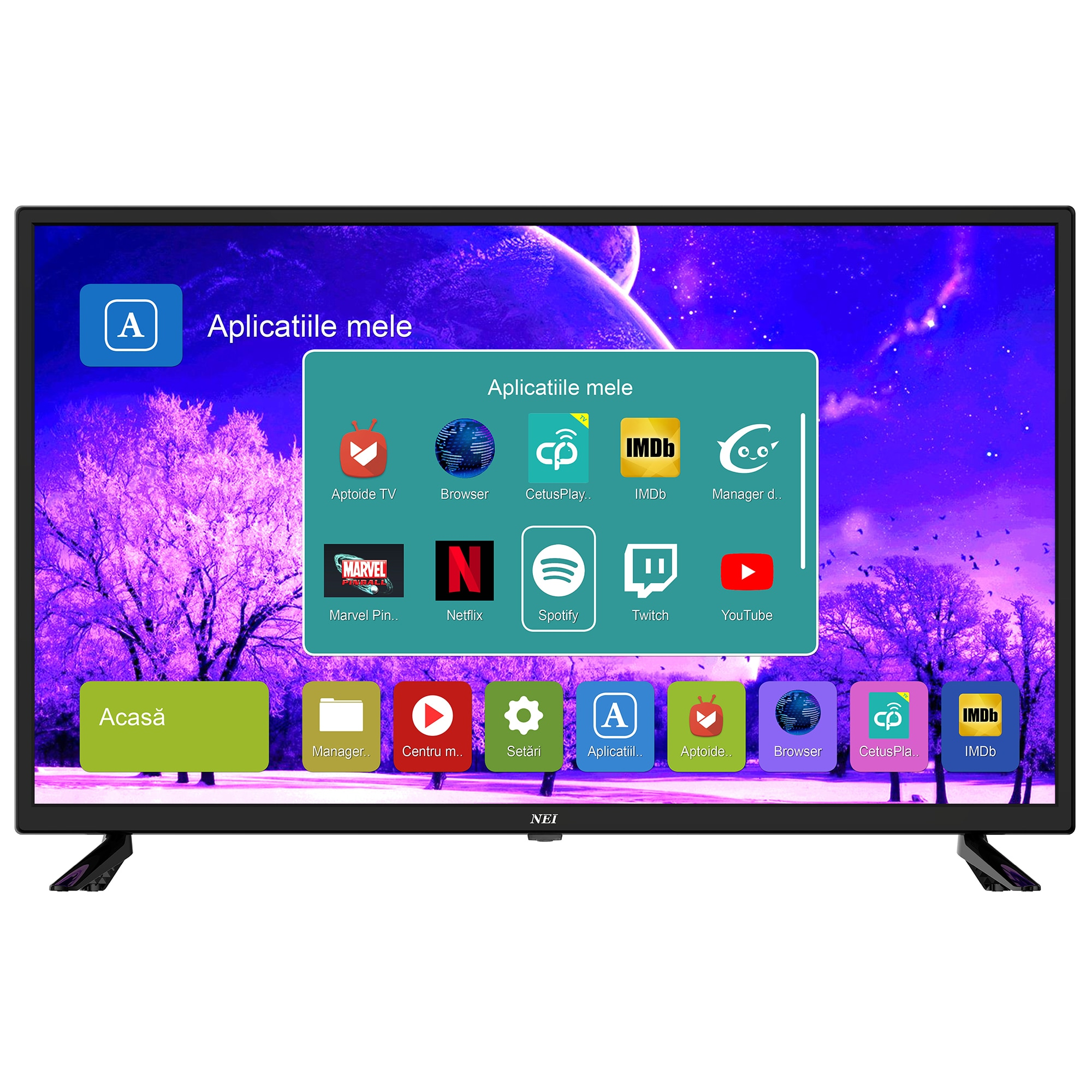 Fotografie Televizor LED Smart NEI, 80cm, 32NE4505, HD