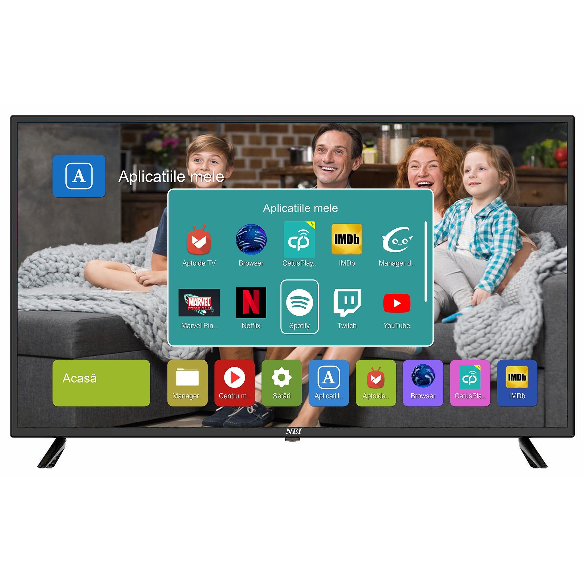 Fotografie Televizor LED Smart NEI, 100cm, 40NE5505, Full HD, Clasa A+