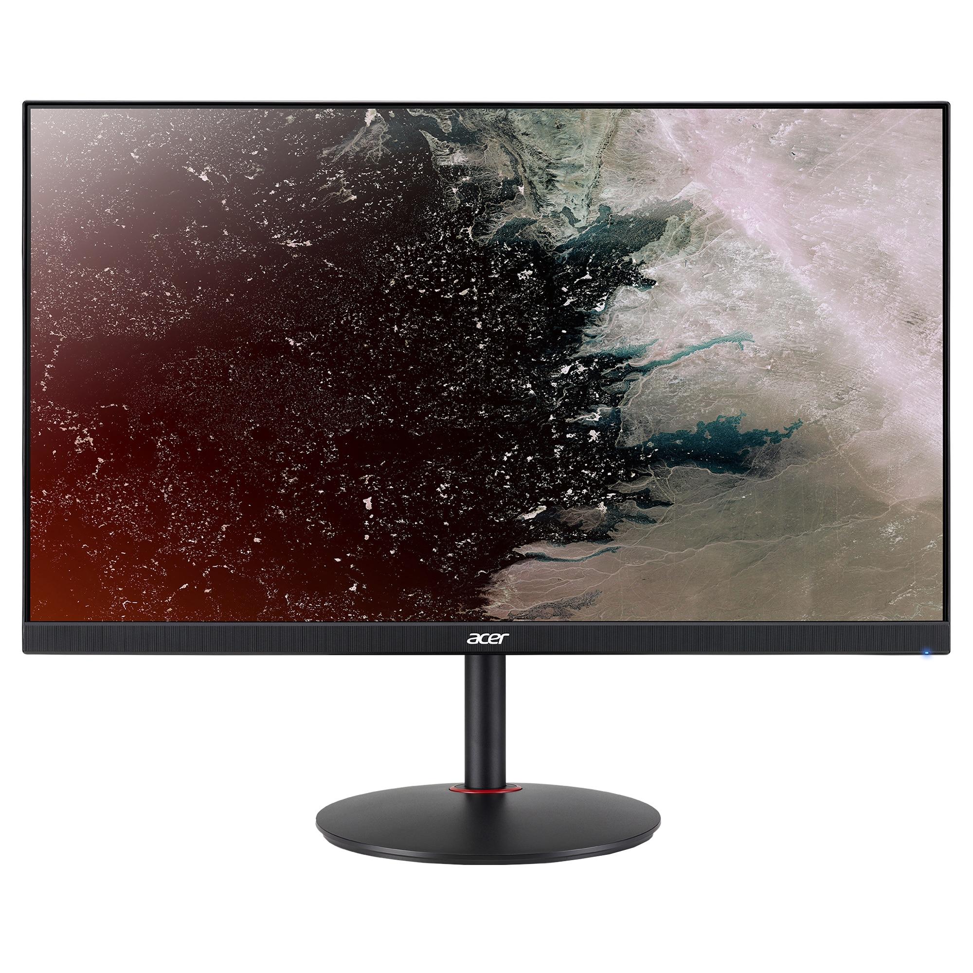 "Fotografie Monitor gaming LED IPS Acer Nitro 27"", WQHD, Display Port, 144Hz, 1ms, FreeSync, Negru, XV272UPbmiiprzx"