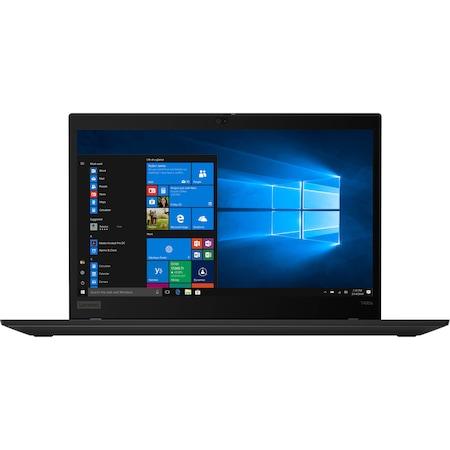 Лаптоп Lenovo ThinkPad T490s с Intel Core i7-8665U (1.90/4.80 GHz, 8M), 32 GB, 2 TB M.2 NVMe SSD, Intel UHD Graphics 620, Free DOS, черен