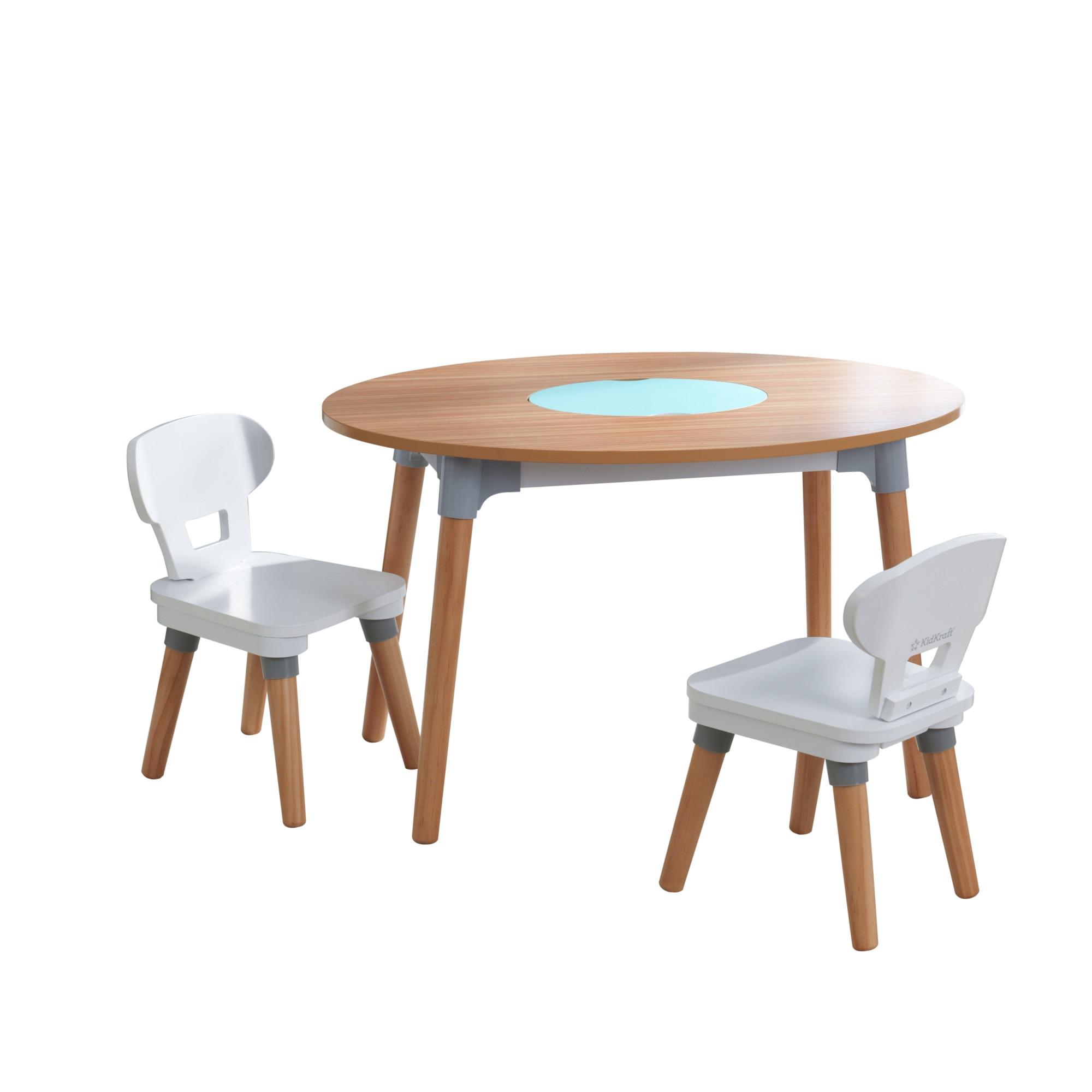 gyerek asztal székekkel