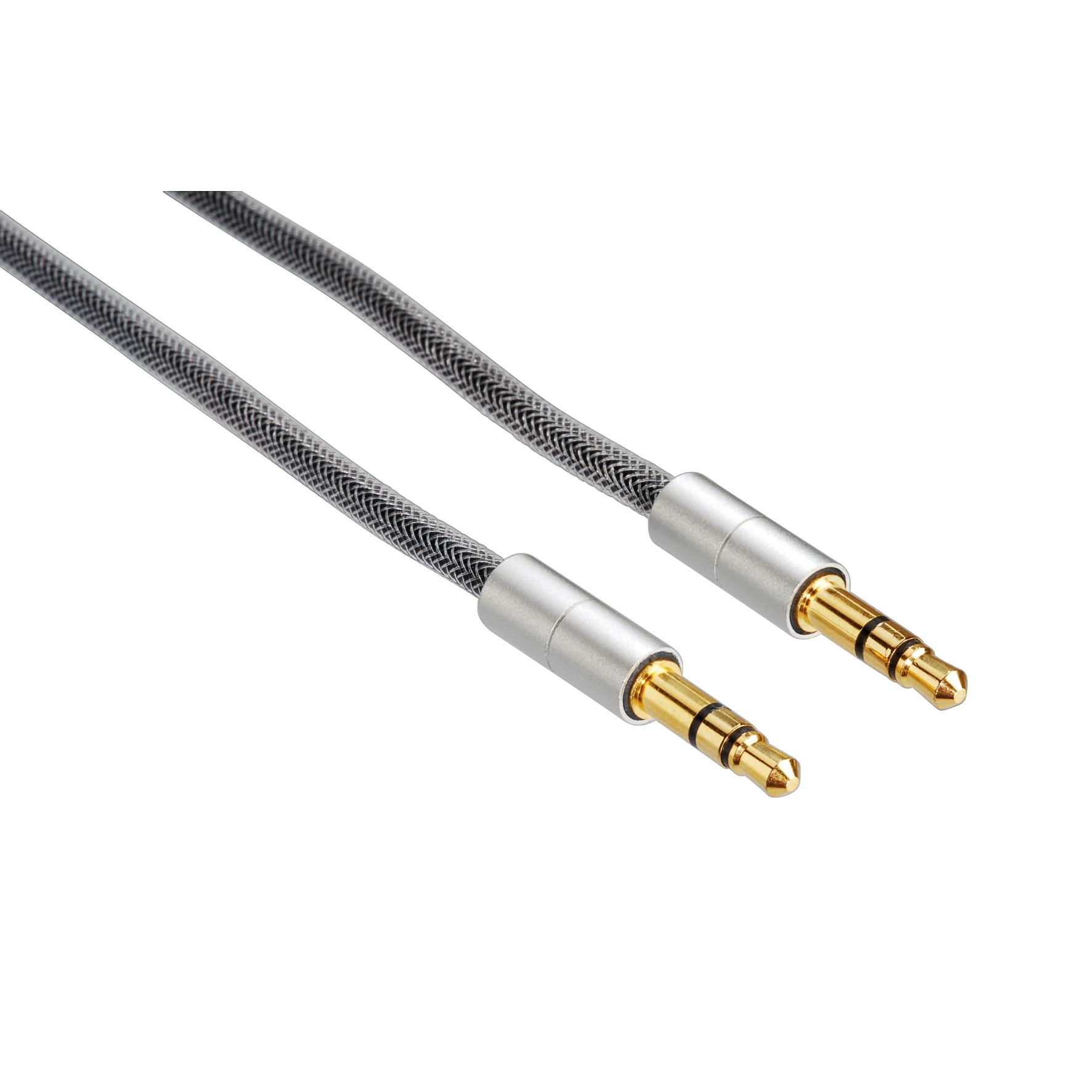 Fotografie Cablu audio Hama AliLine, 3.5mm, 0.5m
