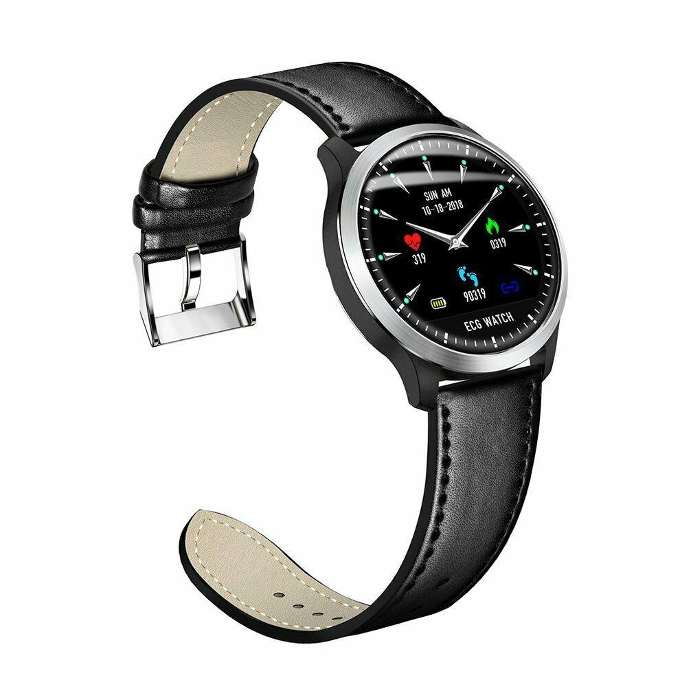 Okosóra, smartwatch N58 férfi karóra, pulzusmérő, szív..