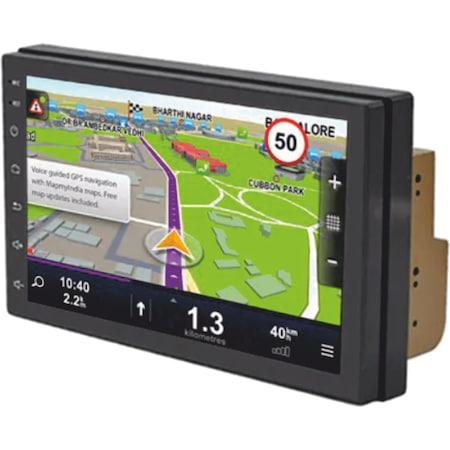 4 magos magyar menüs 2 DIN Android GPS RDS autórádió wifi, bluetooth