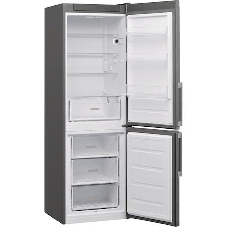 Хладилник с фризер Whirlpool W5 811E OX H, 339 л, Клас A+, Less Frost, 6th Sense, H 189 см, Inox
