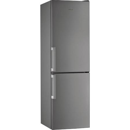 Хладилник с фризер Whirlpool W5 811E OX H, 339 л, Клас A+, Less Frost, 6th Sense, В 189 см, Inox