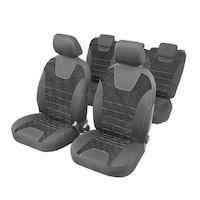 Индивидуални калъфи за автомобилни седалки 5 места Citroen Xsara Picasso - RoGroup, сиви